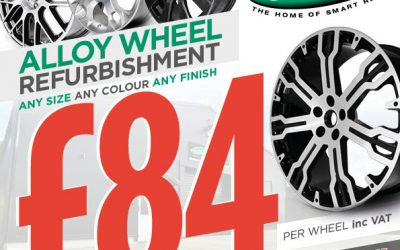 Diamond Cut Refurbed Wheels for £84 during June!