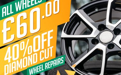 Diamond Cut Wheel Repairs for £60 during March!