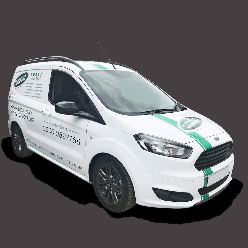 Mobile Ding and Dent Repair Van