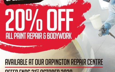 20% Orpington retail paint repairs
