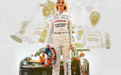 Esmee Hawkey Crowned 2020 Porsche Carrera Cup Champion