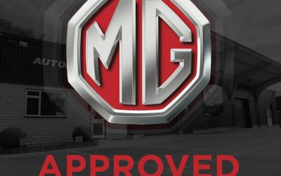 Our Bodyshop is now MG Approved!