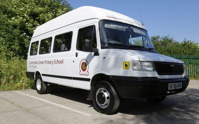 Culverstone Green Primary School Minibus Renovation